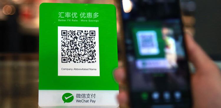 Qr scan code without login wechat WeChat Web